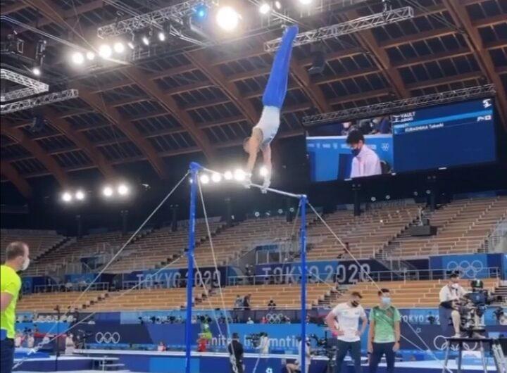 Карими Милад на Олимпийских играх в Токио!